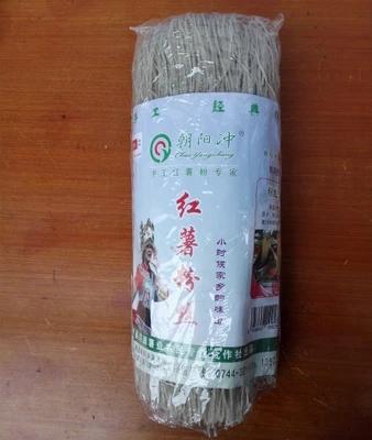 湖南省张家界特产朝阳冲牌 红薯粉丝、粉条、地瓜、方便面